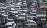 印度迎来排灯节 车辆挤爆街头|组图