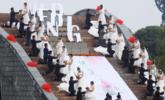 杭州20对新人举办首届低碳婚礼|组图