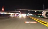 起飞前2分钟,两飞机擦撞致机翼碎裂