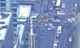 美国纽约曼哈顿市区发生爆炸