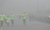 重庆:雾中马拉松