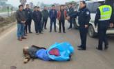 男子车祸身亡 交警就地拦违法司机教育