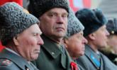俄罗斯共产党举行红军建军100周年游行