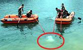 安徽:夫妻双双坠河溺亡现场