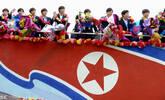 朝鲜U17女足夺冠 回国享英雄般待遇