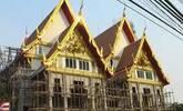 泰国寺庙花420万建带电梯的火葬亭