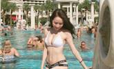 22岁女孩最爱撸铁健身(图)