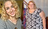 她减掉近200斤,瘦身后成为窈窕女神