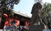 國慶長假期間的少林寺