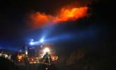 法属科西嘉岛火灾 着火面积达500公顷|组图