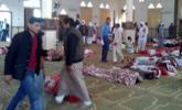 埃及清真寺恐袭184人死现场