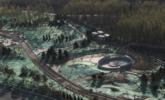 腾退后建成的公园