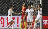 邀请赛-中国女足1-2不敌朝鲜