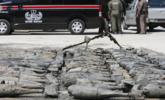 泰国工地现上百枚美制炸弹