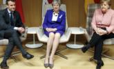 英法德三国领导人在比利时会晤