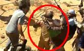 卡扎菲死前最后一刻画面曝光