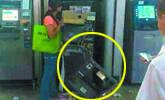 女子徒手拆ATM机只因银行卡被吞