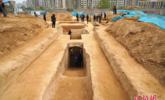 鄭州考古發現四處墓葬 曾遭盜擾