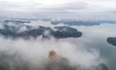 仙女湖:煙雨江南美如畫