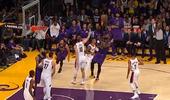 [视频]十佳球:布洛克压哨绝杀猛龙,詹姆斯里程碑抛投