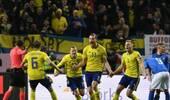 世预赛-达米安中柱悍腰乌龙 意大利0-1瑞典