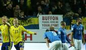 意大利难破百年不胜魔咒 0-1输瑞典进军世界杯悬了