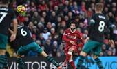 英超-萨拉赫梅开二度库鸟补射 利物浦3-0圣徒