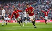 足总杯-桑切斯破门埃雷拉制胜 曼联2-1逆转热刺晋级决赛