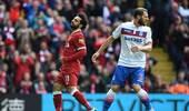 英超-萨拉赫失单刀机会 利物浦主场0-0斯托克城