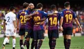 甘伯杯-梅西传射新援+拉菲破门 巴萨3-0博卡夺6连冠