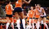 中国女排提前晋级四强!荷兰连扳3局逆转美国 送卫冕冠军出局