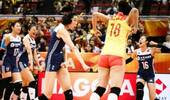 女排世锦赛-中国队连扳三局战胜荷兰队 获小组第一将再战意大利