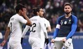 法国1-0乌拉圭 吉鲁点射姆巴佩伤退