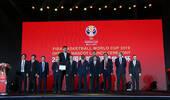 """2019年篮球世界杯倒计时500天 吉祥物""""梦之子""""展示龙文化"""