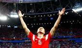 世界杯-萨拉赫破门难救主 俄罗斯3-1埃及出线在即