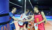 世联赛中国男排1-3塞尔维亚 总战绩3胜12负收官