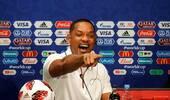 世界杯闭幕式发布会 威尔史密斯领衔搞怪出席