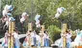 第十二届郑州国际少林武术节武术展演侧记:天地之中涌动荡气武林魂