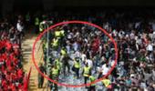 伊朗球迷想打中国球迷没打成 无处发泄情绪 结果自己人打了10分钟