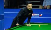 世锦赛-丁俊晖9-7领先梁文博 威尔逊晋级八强