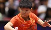 中国女乒16岁天才一战成名 全日本被她这句话感动!