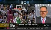 ESPN名记:欧文担心詹姆斯走人想掌握主动