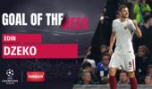 欧足联公布本轮欧冠最佳进球 罗马锋霸凌空斩当选