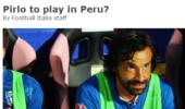 去干啥?皮尔洛收到秘鲁球队神秘邀请 小罗有类似经历