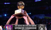NBA技巧赛:丁威迪战胜马尔卡宁荣膺冠军