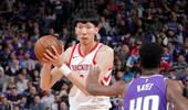 周琦NBA这一年收获了22分22板14帽 命中率却辣眼睛
