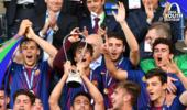 青年欧冠决赛:巴萨3-0切尔西 时隔四年再夺冠