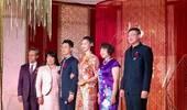 惠若琪婚后一家六口全家福首曝光:娘家身高超夫家