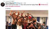 永不独行!利物浦更衣室庆祝胜利并致敬受伤球迷