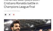 萨拉赫:欧冠决赛不是我和C罗的个人战争